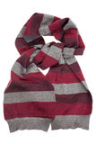 Striped scarf Royalty Free Stock Photography
