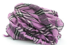 Striped scarf Stock Photo
