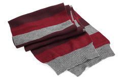 Striped scarf Stock Images