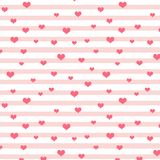 Heart seamless background royalty free stock image