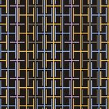 Striped seamless geometric pattern. Digital background. Striped seamless geometric pattern. Black and white texture. Digital background vector illustration