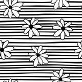 Striped seamless pattern Stock Photos