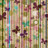 Striped seamless pattern Royalty Free Stock Photos