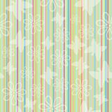 Striped seamless pattern Royalty Free Stock Photo