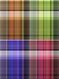 Striped seamless pattern set Royalty Free Stock Photography