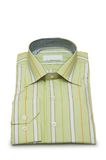 Striped shirt isolated Stock Image