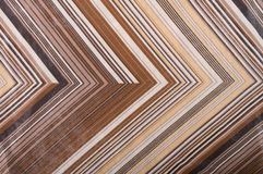 Striped silk fabric. Stock Image