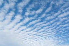 Striped sky Stock Photo