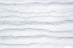 Striped snow as background Royalty Free Stock Photos