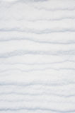 Striped snow as background Royalty Free Stock Photo