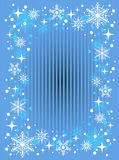 Striped snow background Royalty Free Stock Photo