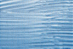 Striped soapsuds of blue color Stock Photos