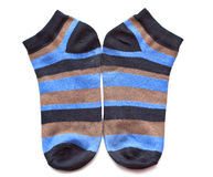 Striped socks. Stock Photography