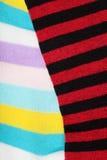 Striped socks Royalty Free Stock Photos