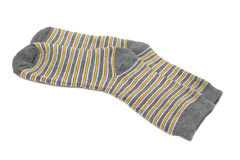 Striped socks Royalty Free Stock Photo