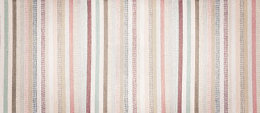 Striped soft colorful fabric textured vintage background Stock Photos