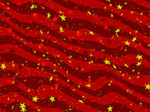 Striped and starred background. Holiday and festive striped and starred background Stock Photo