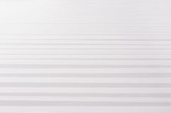 Striped stepped soft white abstract texture with perspective. Stock Images