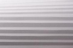 Striped stepped soft white and grey abstract paper texture with halftone perspective. Royalty Free Stock Image