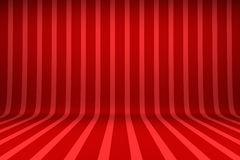 Striped studio background. Empty studio with striped backdrop Royalty Free Stock Images
