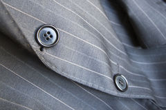 Striped Suit Royalty Free Stock Image