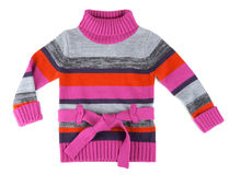 Striped sweater for children Stock Images