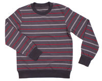 Striped sweater for children Stock Image