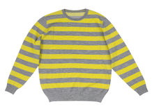 Striped sweater Royalty Free Stock Image