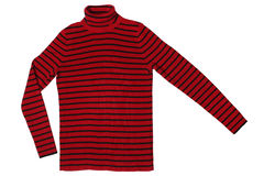 Striped sweater Royalty Free Stock Photos