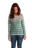 Striped sweater Royalty Free Stock Photo