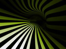 Striped swirl Royalty Free Stock Photography