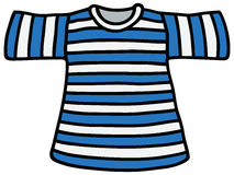 Striped T-shirt Stock Photography