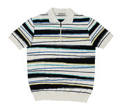 Striped t-shirt Stock Images