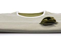 Striped T-shirt Royalty Free Stock Photo