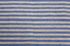 Striped tablecloth Stock Photography