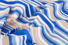 Tablecloth background Royalty Free Stock Image
