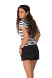 Striped tee Royalty Free Stock Photography