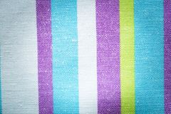 Striped textile background Royalty Free Stock Photo