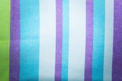 Striped textile background Stock Photo
