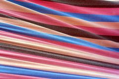Striped textile texture Royalty Free Stock Photography
