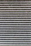 Striped Texture of Garage Door Stock Image