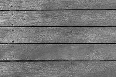 Striped texture of old wooden boards. Background and striped texture of old wooden boards of monochrome tone Stock Photos