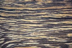 Striped texture of an old wooden surface stock photo
