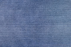Striped textured blue jean Royalty Free Stock Photos
