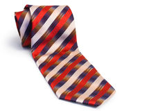 Striped tie Royalty Free Stock Photo