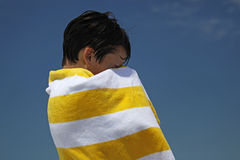 Striped Towel Stock Images