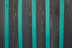 Striped unpolished деревянные поверхностные нашивки worktop, серых и зеленых, Стоковое Изображение RF