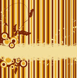 Striped vector retro background Royalty Free Stock Photography