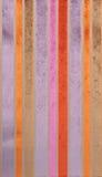 Striped velvet fabric Stock Photography