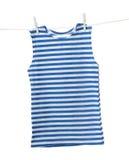 Striped vest Stock Image